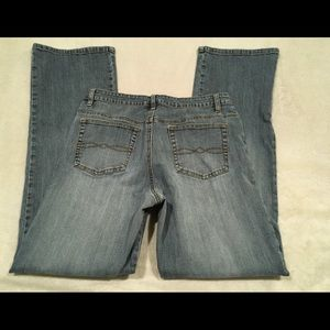 CABI Jeans Straight Distressed Jeans S12